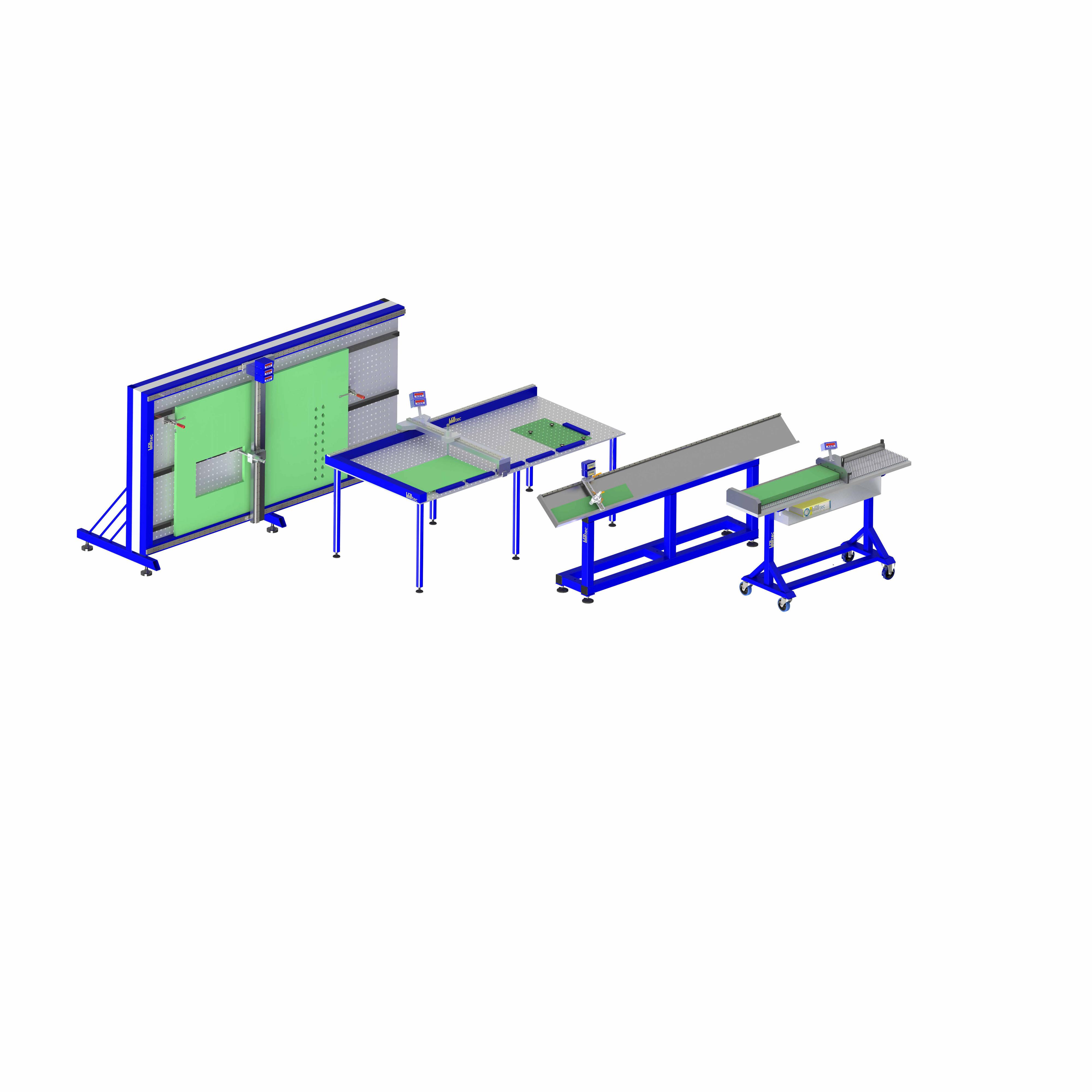 PanelLine Mess- und Prüftische für Platten