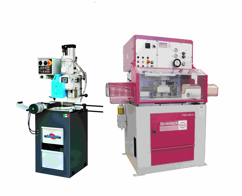 Stahl- Edelstahlsägemaschinen- / Automaten